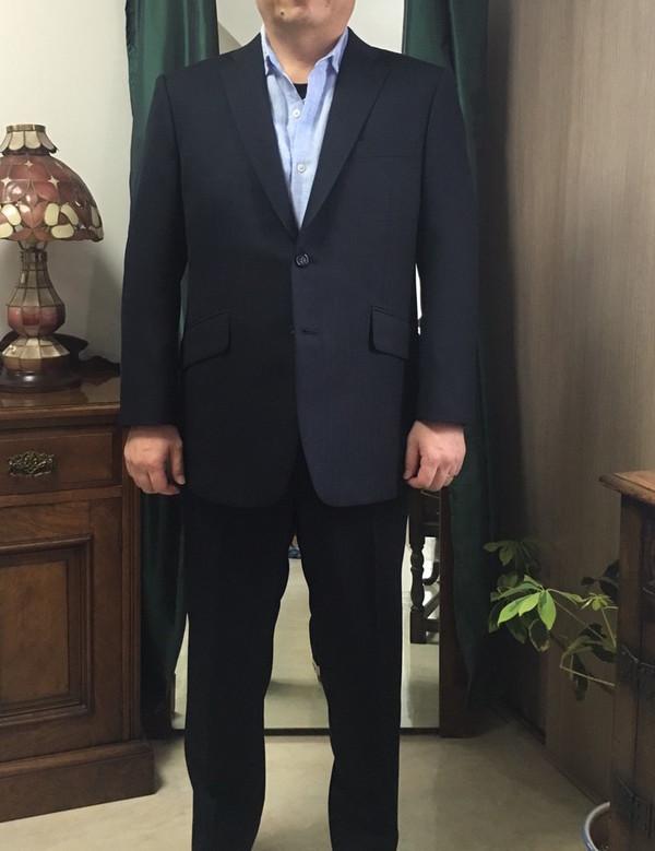 【東京都練馬区在住  YMさま】国産秋冬生地で二つ釦シングルスーツと三つ釦シングルスーツを先取りお仕立て