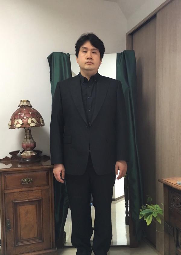 【千葉県流山市在住 YFさま】国産生地で礼服をお仕立て