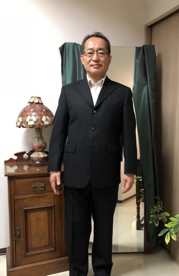 【群馬県高崎市在住 SKさま】国産生地で三つ釦シングルスーツをお仕立て
