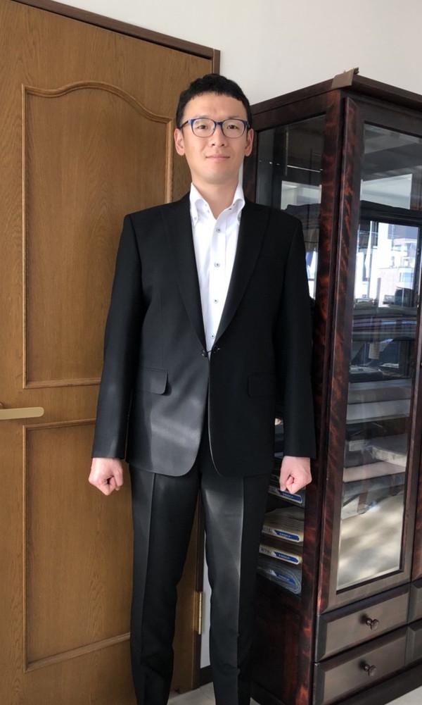 【東京都練馬区在住  AUさま】国産生地で礼服をお仕立て