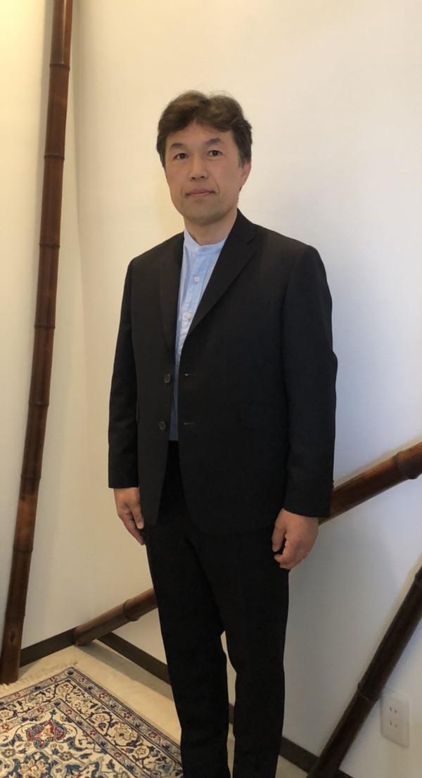 【千葉県木更津市在住  KKさま】国産生地で三つ釦段返りシングルスーツをお仕立て