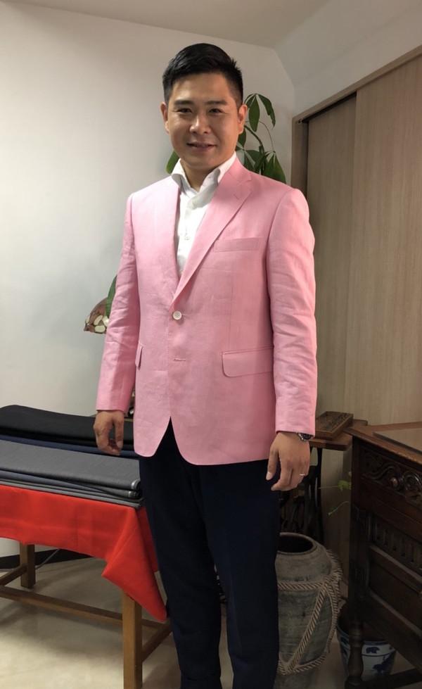 【神奈川県川崎市在住  野見山誠一さま】国産生地でシングルジャケットをお仕立て