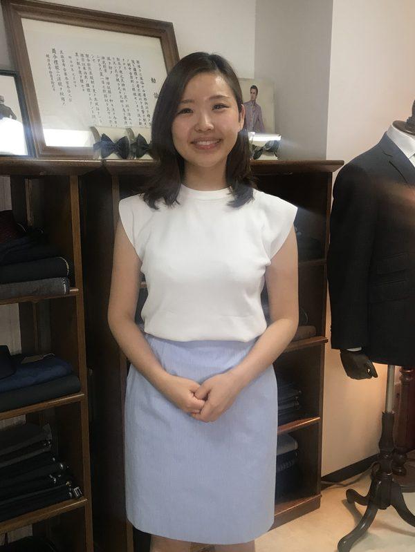 【神奈川県横浜市在住 AIさま】国産生地でオーダースカート二着をお仕立て
